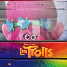 Troll bus pour dreamworks